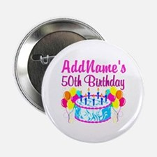 "50TH PARTY 2.25"" Button (10 pack)"