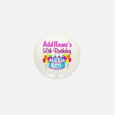 50TH PARTY Mini Button (10 pack)
