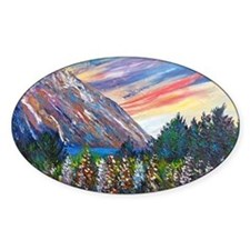 Mountain Lupins - By Helen Blair Decal