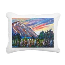 Mountain Lupins - By Hel Rectangular Canvas Pillow