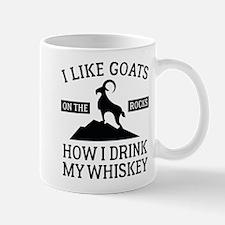 I Like Goats On The Rocks Mug