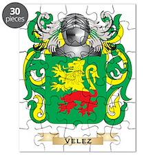 Velez Family Crest (Coat of Arms) Puzzle