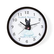 Scotty Angel Wall Clock