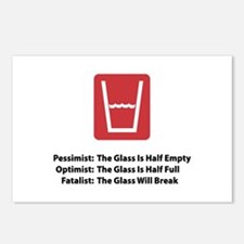 Fatalist Glass Postcards (Package of 8)