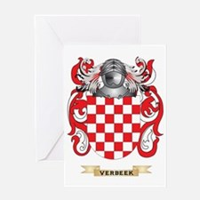 Verbeek Family Crest (Coat of Arms) Greeting Card