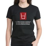 Feminist Glass Women's Dark T-Shirt
