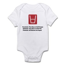 Feminist Glass Infant Bodysuit