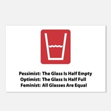 Feminist Glass Postcards (Package of 8)
