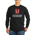 Feminist Glass Long Sleeve Dark T-Shirt