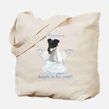 Fox Terrier Angel Tote Bag