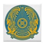 Kazakhstan Tile Coasters