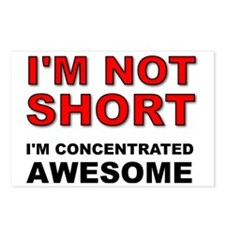 Not Short Concentrated Aw Postcards (Package of 8)