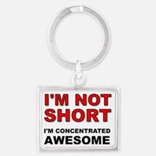 Not Short Concentrated Awesome Landscape Keychain