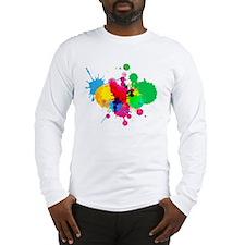 Paint Fight Long Sleeve T-Shirt