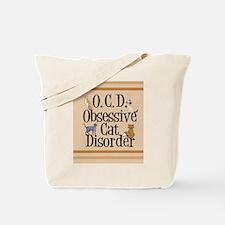 obsessivecatjournal Tote Bag