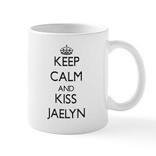 Keep Calm and kiss Jaelyn Mugs