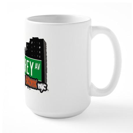 Monterey Av, Bronx, NYC Large Mug
