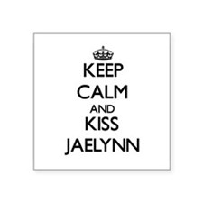 Keep Calm and kiss Jaelynn Sticker