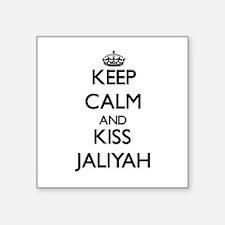 Keep Calm and kiss Jaliyah Sticker