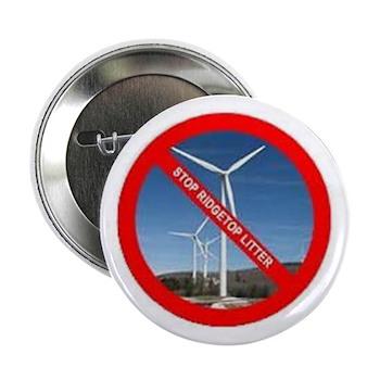 "No Wind Turbine 2.25"" Button (10 pack)"