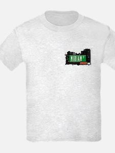 Miriam St, Bronx, NYC T-Shirt