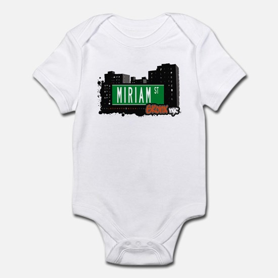 Miriam St, Bronx, NYC Infant Bodysuit