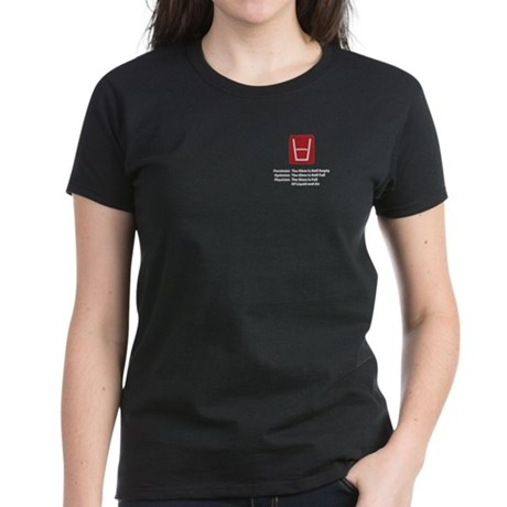 Physicist Glass Women's Dark T-Shirt