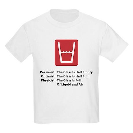 Physicist Glass Kids Light T-Shirt
