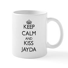 Keep Calm and kiss Jayda Mugs