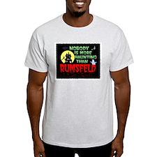 Rumsfeld Horror Ash Grey T-Shirt