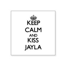 Keep Calm and kiss Jayla Sticker