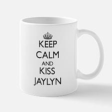 Keep Calm and kiss Jaylyn Mugs