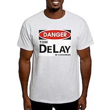 DANGER DeLay Ash Grey T-Shirt