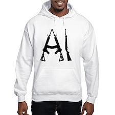 AI Rifle Logo Small Hoodie