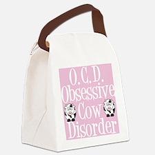 ocdcowcard Canvas Lunch Bag