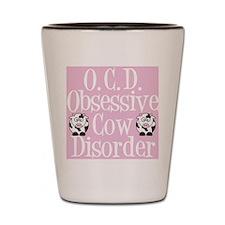 ocdcowlunch Shot Glass