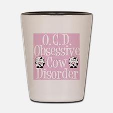 ocdcowsticker Shot Glass