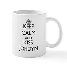 Keep Calm and kiss Jordyn Mugs