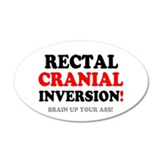 RECTAL CRANIAL IVERSION - BR Wall Decal