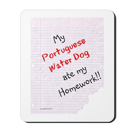 PWD Homework Mousepad