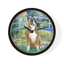 Bridge & Boxer Wall Clock