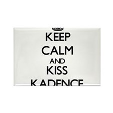Keep Calm and kiss Kadence Magnets