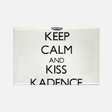 Keep Calm and kiss Kadence Magnets