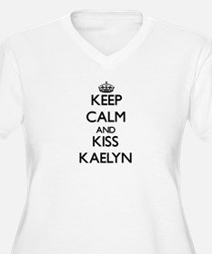 Keep Calm and kiss Kaelyn Plus Size T-Shirt