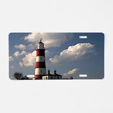 Lighthouse Art Aluminum License Plate