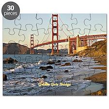 Golden Gate Bridge (labeled) Puzzle