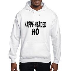 Nappy Headed Ho Brush Design Hoodie