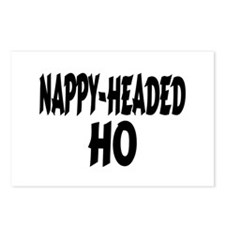 Nappy Headed Ho Brush Design Postcards (Package of