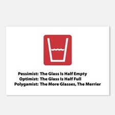 Polygamist Glass Postcards (Package of 8)