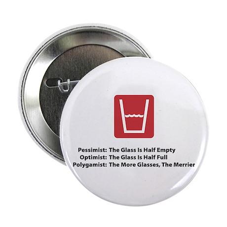 Polygamist Glass Button
